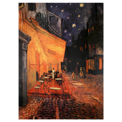 Oriental Furniture Cafe Terrace On The Place Du Forum Classic Print