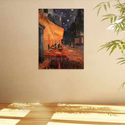 Oriental Furniture Cafe Terrace On The Place Du Forum Scenic + Landscape Print