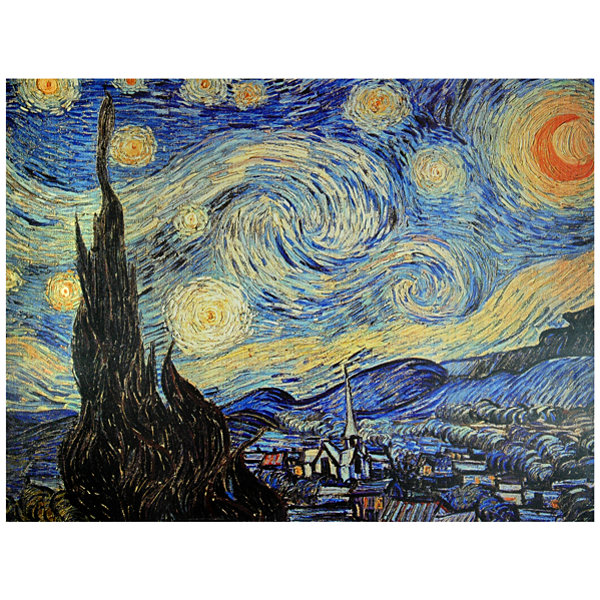 Oriental Furniture Starry Night Classic Print