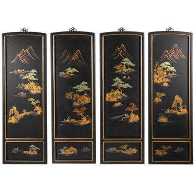 Oriental Furniture Japanese Landscape Scenic + Landscape Print