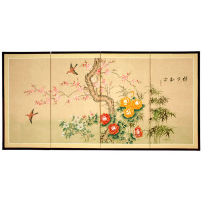 Oriental Furniture Birds In Flight Animals + Insects Print
