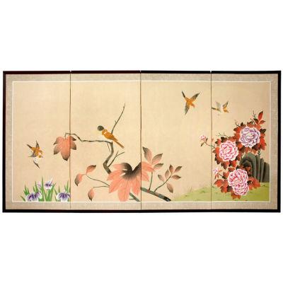 Oriental Furniture Birds On The Tree Scenic + Landscape Print