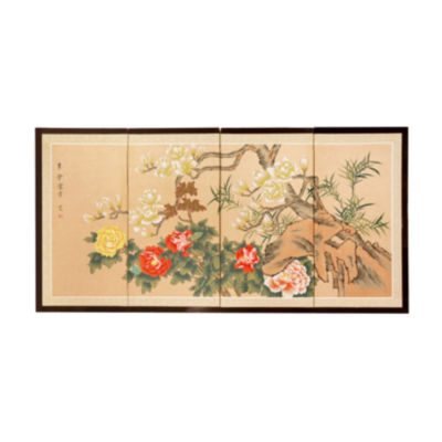 Oriental Furniture Harmony In Nature Wall Sculpture