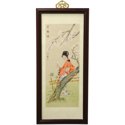 Oriental Furniture Blossoms And Beauty Canvas Art