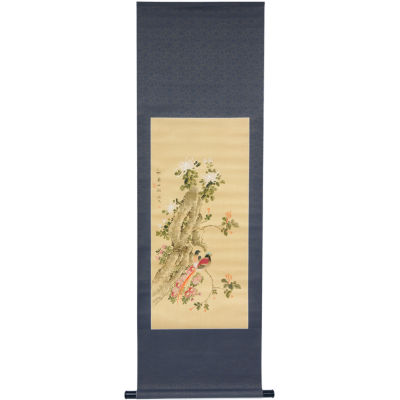 Oriental Furniture Bird On A Wire Canvas Art
