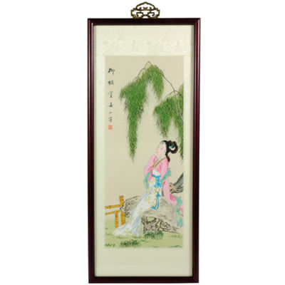 Oriental Furniture Day Dreaming Canvas Art