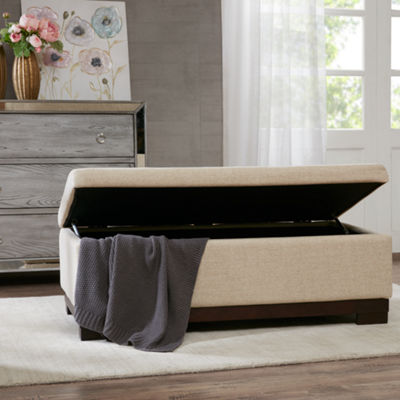 Madison Park Austin Storage Ottoman