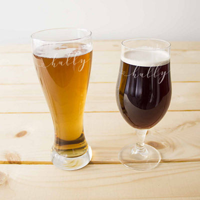 Cathy's Concepts 2-pc. Pilsner Glass