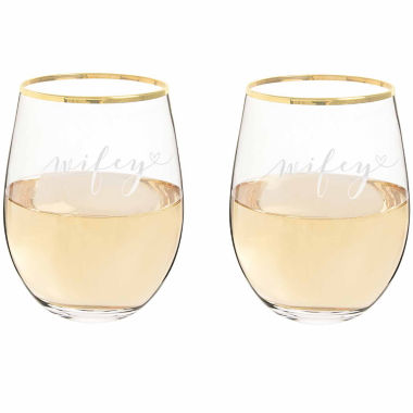 Cathy's Concepts 2-pc. Wine Glass