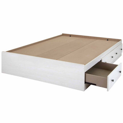 Country Poetry Mates Bed with 3 Drawers
