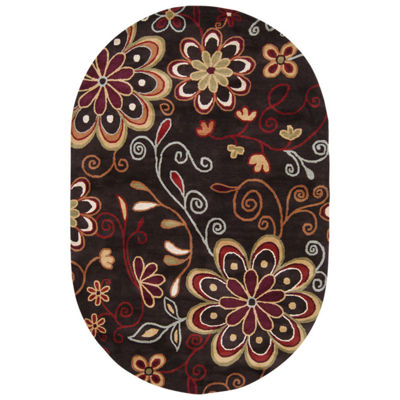Decor 140 Alyxia Hand Tufted Oval Rugs