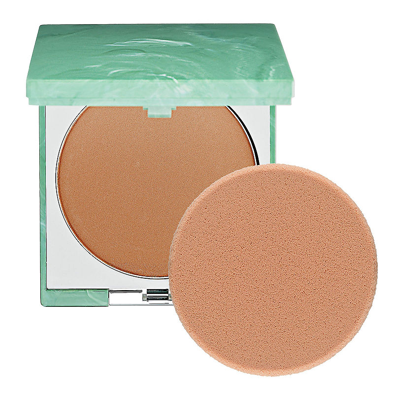 Clinique Stay-Matte Sheer Pressed Powder - Honey Stay - Cosmetics - Bronzers