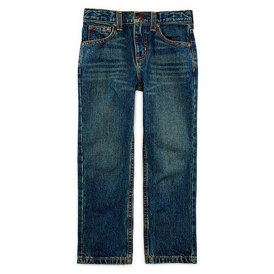 Arizona Little Boys Straight Relaxed Fit Jean