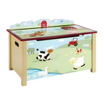 Farm Friends Toy Box