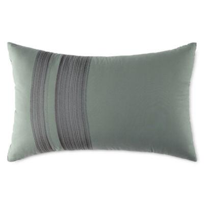 Studio™ Micro Grid Oblong Decorative Pillow
