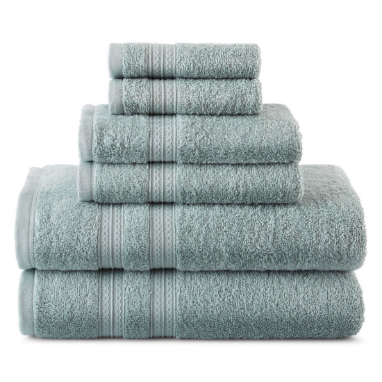 Home Expressions™ 6-pc. Solid Bath Towel Set