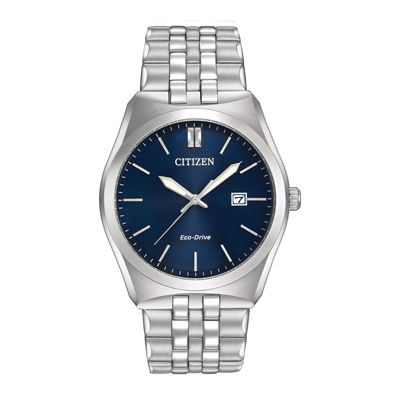 Citizen® Eco-Drive® Corso Mens Stainless Steel Watch BM7330-59L