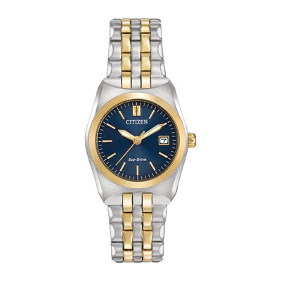 Citizen® Eco-Drive® Corso Womens Two-Tone Stainless Steel Bracelet Watch EW2294-53L