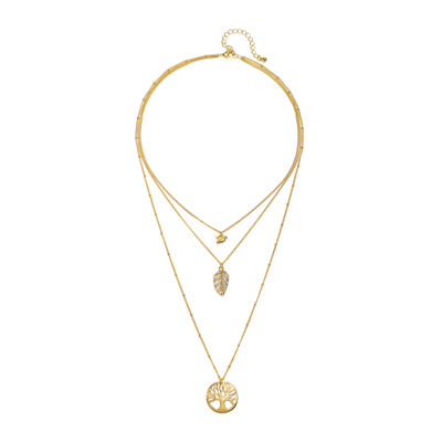 Mixit™ Three-Row Pendant Necklace
