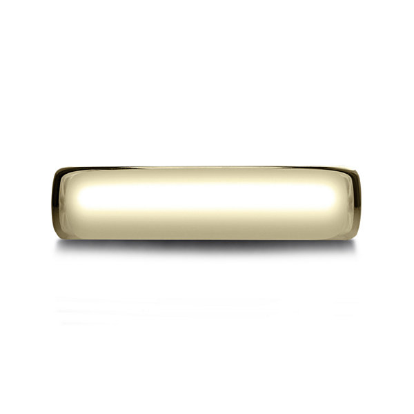 Mens 14K Yellow Gold 5.5mm Band