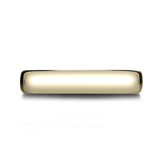 Mens 14K Yellow Gold 4.5mm Band