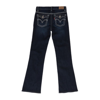 Levi's® Thick-Stitch Bootcut Jeans - Girls 7-16 and Plus