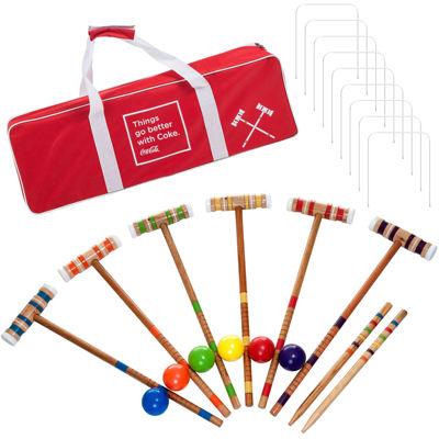 Trademark Games™ Coca Cola® Croquet Set