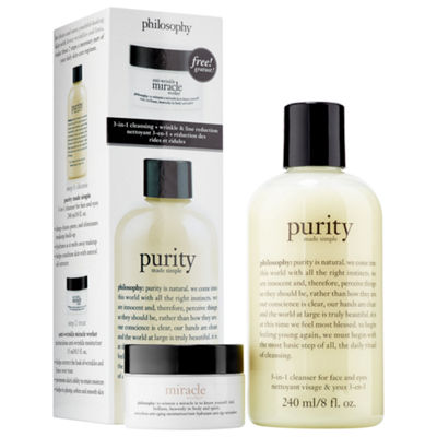 philosophy Purity + Anti-Wrinkle Miracle Worker Duo