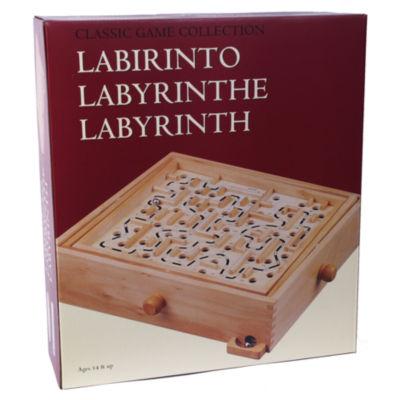Wood Labyrinth
