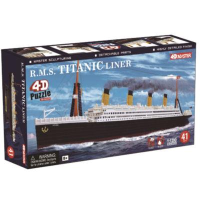 4D-Puzzle R.M.S. Titanic Model