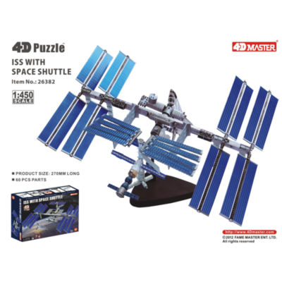 """4D-Puzzle International Space Station 10.25"""""""
