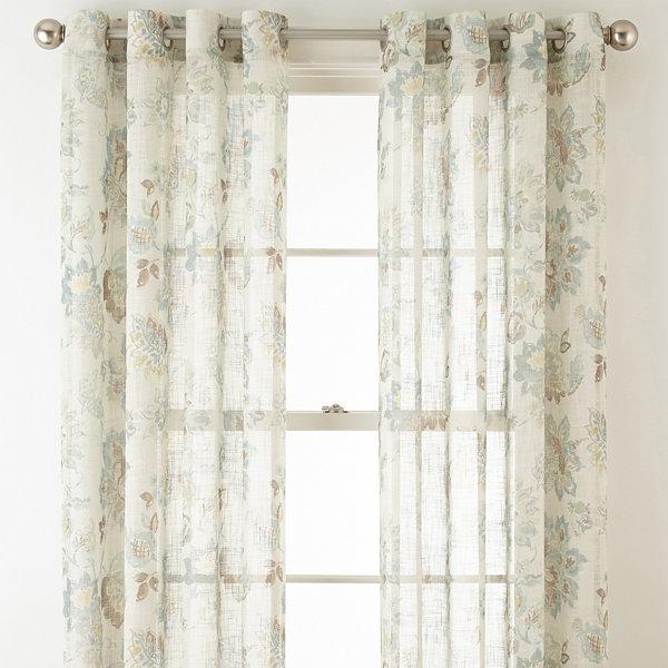 Jcp Sheer Curtain Panels Curtain Menzilperde Net