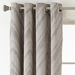 Studio™ Painterly Chevron Grommet-Top Curtain Panel