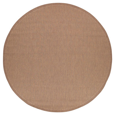 Couristan® Saddle Stitch Indoor/Outdoor Round Rug