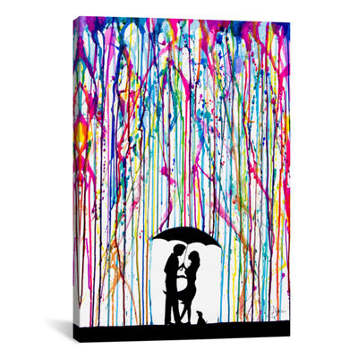 Two Step by Marc Allante Canvas Wall Art