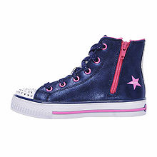 a7212155efad Skechers Twinkle Toes Shuffles Rock Girls Sneakers - Little Kids ...