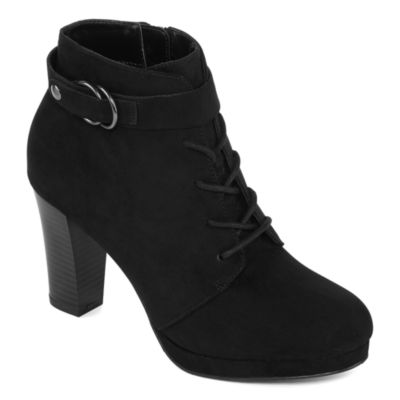 a.n.a Fawn Womens Lace Up Boots