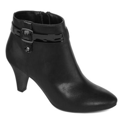 east 5th Womens Quanda Booties Stiletto Heel Zip