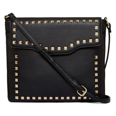 T-Shirt & Jeans Stud Crossbody Bag