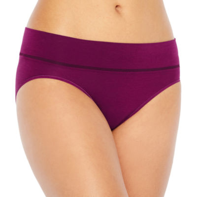 Jockey Natural Beauty Seamfree® Microfiber High Cut Panty