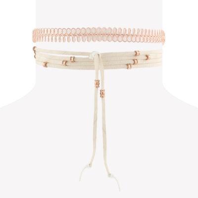 Decree Womens 2-pc. Necklace Set