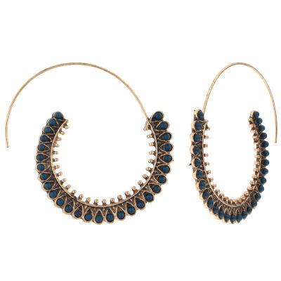 Decree 30.1mm Hoop Earrings