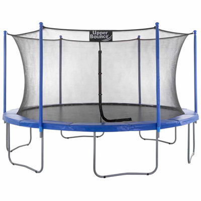 Upper Bounce 14ft Trampoline & Enclosure Set