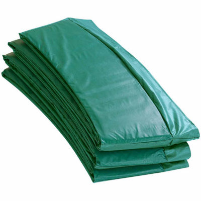 Upper Bounce Super Trampoline Replacement Safety Pad (Spring Cover) Fits for 12 FT. Round Frames - Green