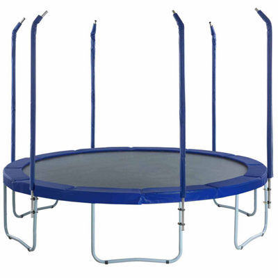 Upper Bounce Trampoline Replacement Enclosure Poles & Hardware- Designed  For Top Ring Enclosure System- Set of 6 -Net Sold Separately