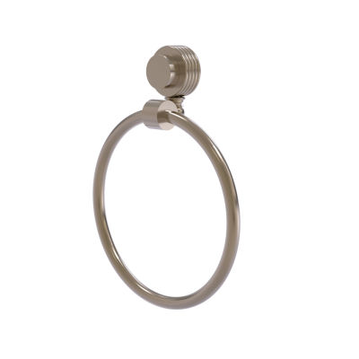 Allied Brass Venus With Groovy Accent Towel Ring