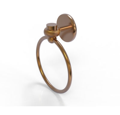 Allied Brass Satelite Orbit One With Twist Accent Towel Ring