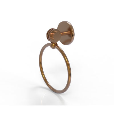 Allied Brass Satelite Orbit Two With Dotted Accent Towel Ring