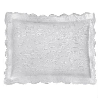 Lamont Home Majestic Scalloped Pillow Sham