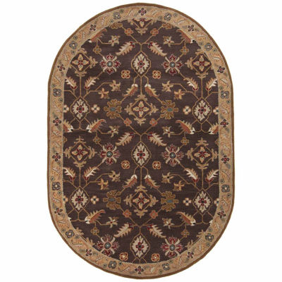 Decor 140 Epictus Hand Tufted Oval Indoor Rugs